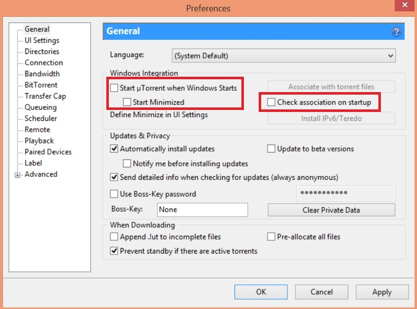 How to Hide and Lock uTorrent - 2