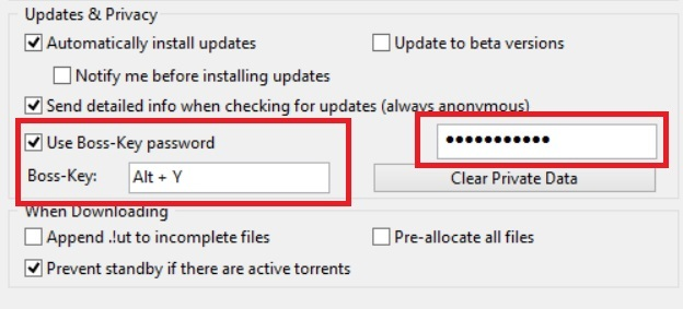 How to Hide and Lock uTorrent - 3
