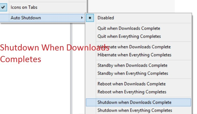 Best uTorrent Tips and Tricks : Shutdown when downloads completes