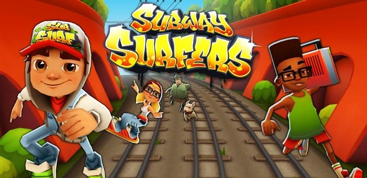 Subway Surfers for Nokia Asha
