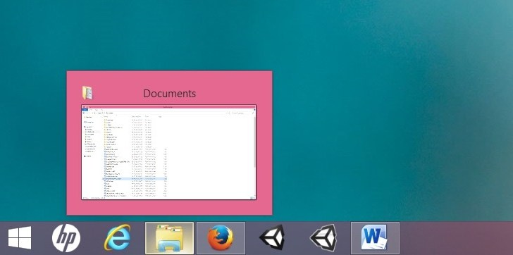 How to Disable Taskbar Thumbnail Preview Windows 8.1/8/7