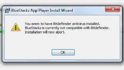 How to Install Bluestacks with Bitdefender - Error