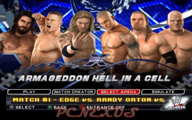 WWE Raw vs Smackdown for PC