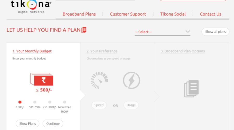 how to see current broadband plabn