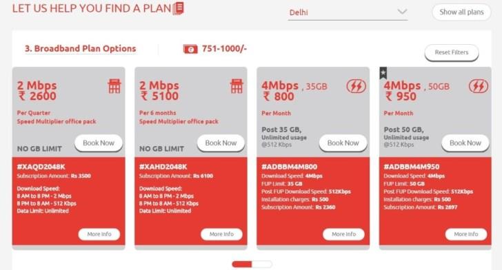 Tikona Broadband Plans - 3