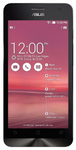 Best Smartphones Under 10000 August 2015 - Asus Zenfone 5