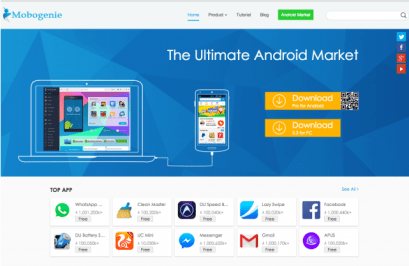 Best Free Paid Android Apps Market 2016 - Mobogenie Market