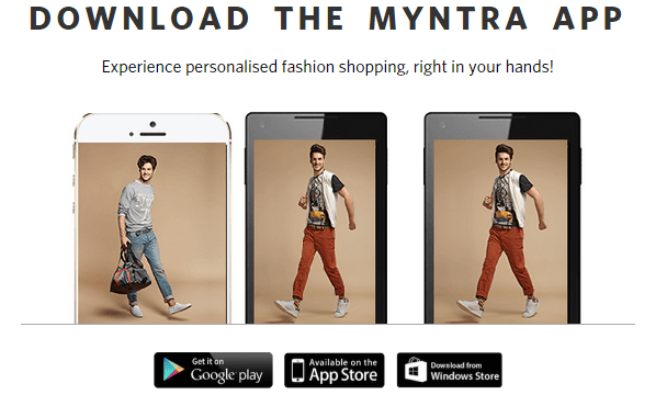 Myntra App for PC