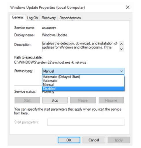 How to Turn Off Windows Updates in Windows 10