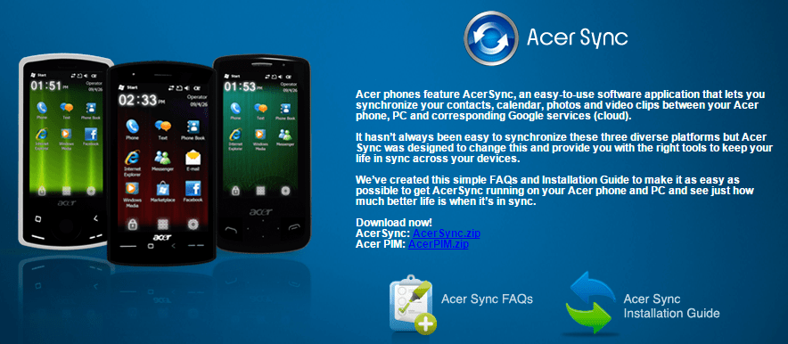Download Acer Liquid Z530 PC Suite USB Drivers