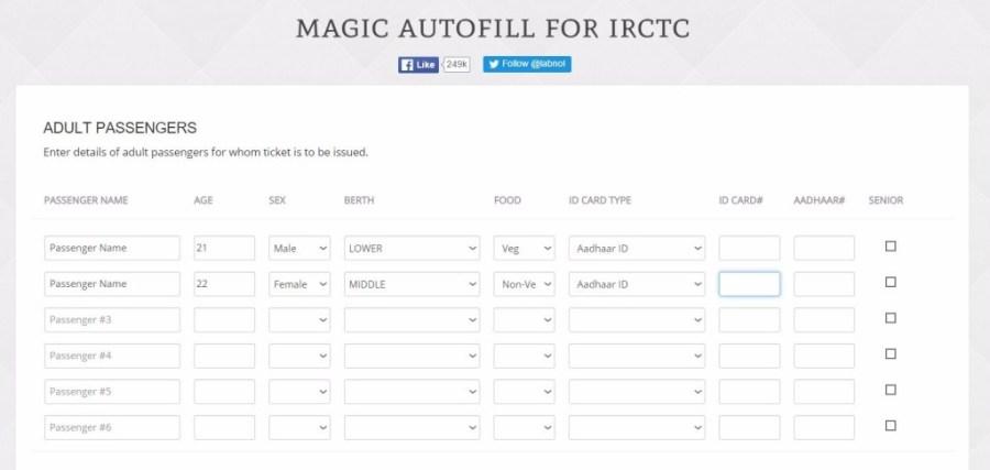 Latest IRCTC Tatkal Tricks 2016