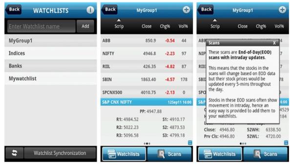 Investar Stock market app