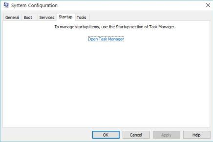 Fix Something Went Wrong Error in Office 2013 - System Configuration task manager