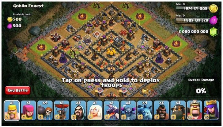 Flamewall Clash of Clans MOD APK