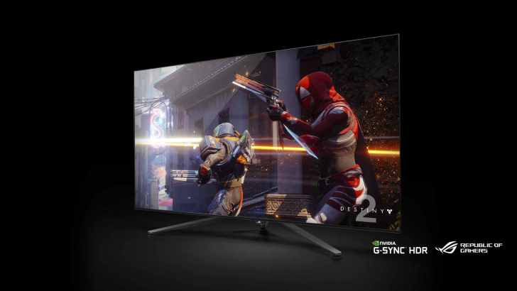 NVIDIA Big Format Gaming Displays – 4K HDR, G-SYNC 120Hz, 65-inch!