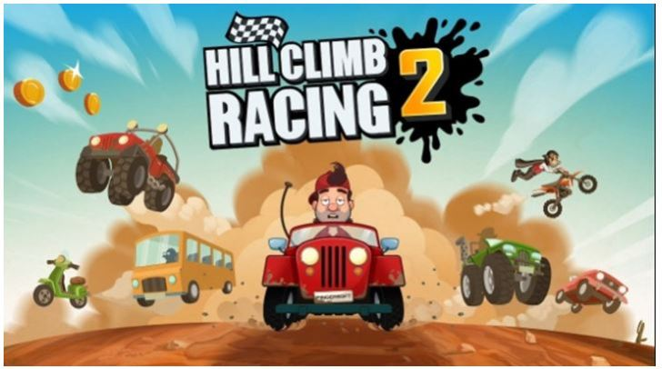 Best Free Mobile Games Without WiFi - Hill Climb Racing 2