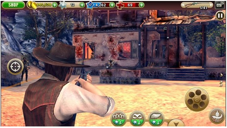 Best Free Mobile Games Without WiFi - The Six Guns