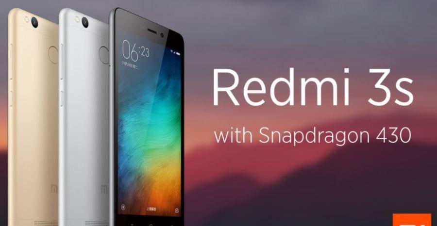 Best 4G Phones Under 10000 - Xiaomi Redmi 3S