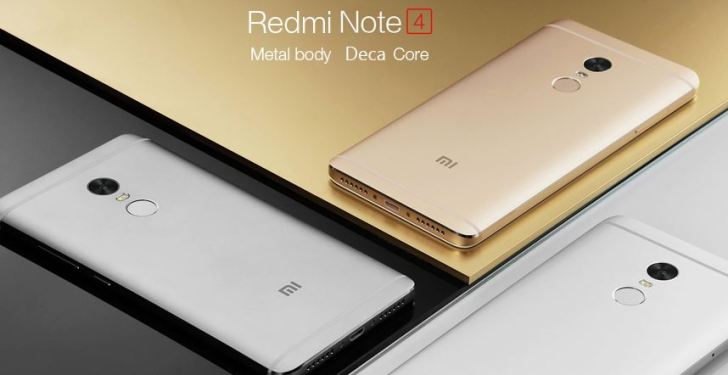 Best 4G Phones Under 10000 - Xiaomi Redmi Note 4