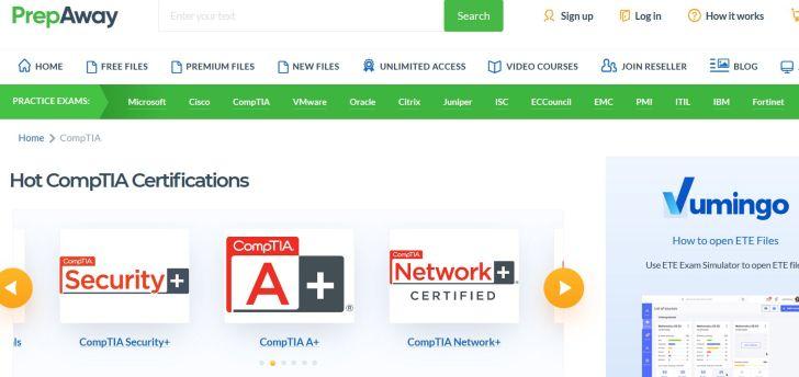 CompTIA Certifications - Prepaway