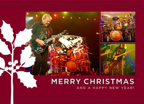 Rush Is A Band Blog Customizable Rush Christmas Cards Now