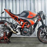 Ktm Rc 250 Fairing Removed Modified Into A Neo Retro Cafe Racer