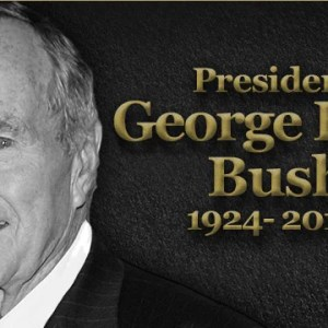 Where Was This Love for George H.W. Bush When He Was President?