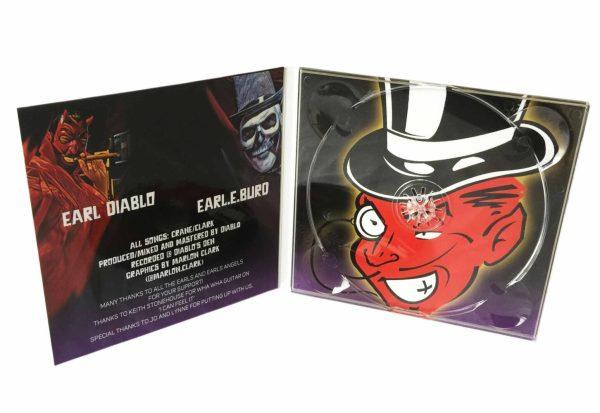 CD Digipack Printing UK | 4 Panel CD Digipak with cd duplication | Rush Media Print