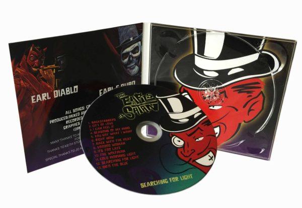 4 Panel CD Digipak Printing and cd duplication | Rush Media Print