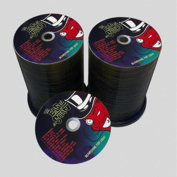 Bulk CD duplication and DVD printing