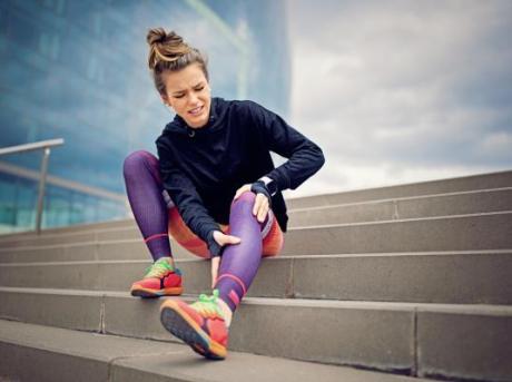 runner injured knee