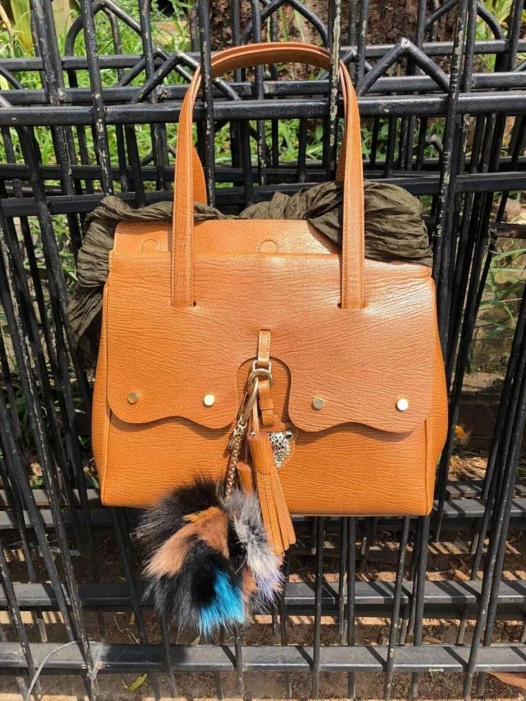 Fiore Tan Brown Bag