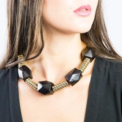 black s black sw necklace model 2 scaled