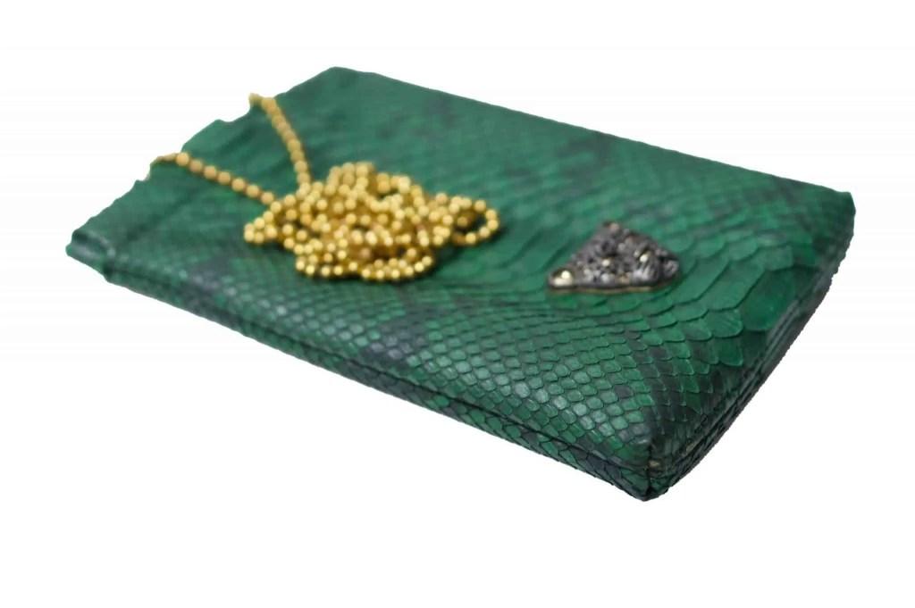 Green b Capsule phone bag