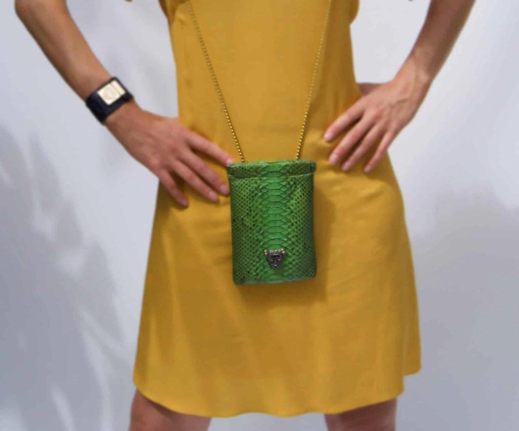 Green Capsule Iphone bag