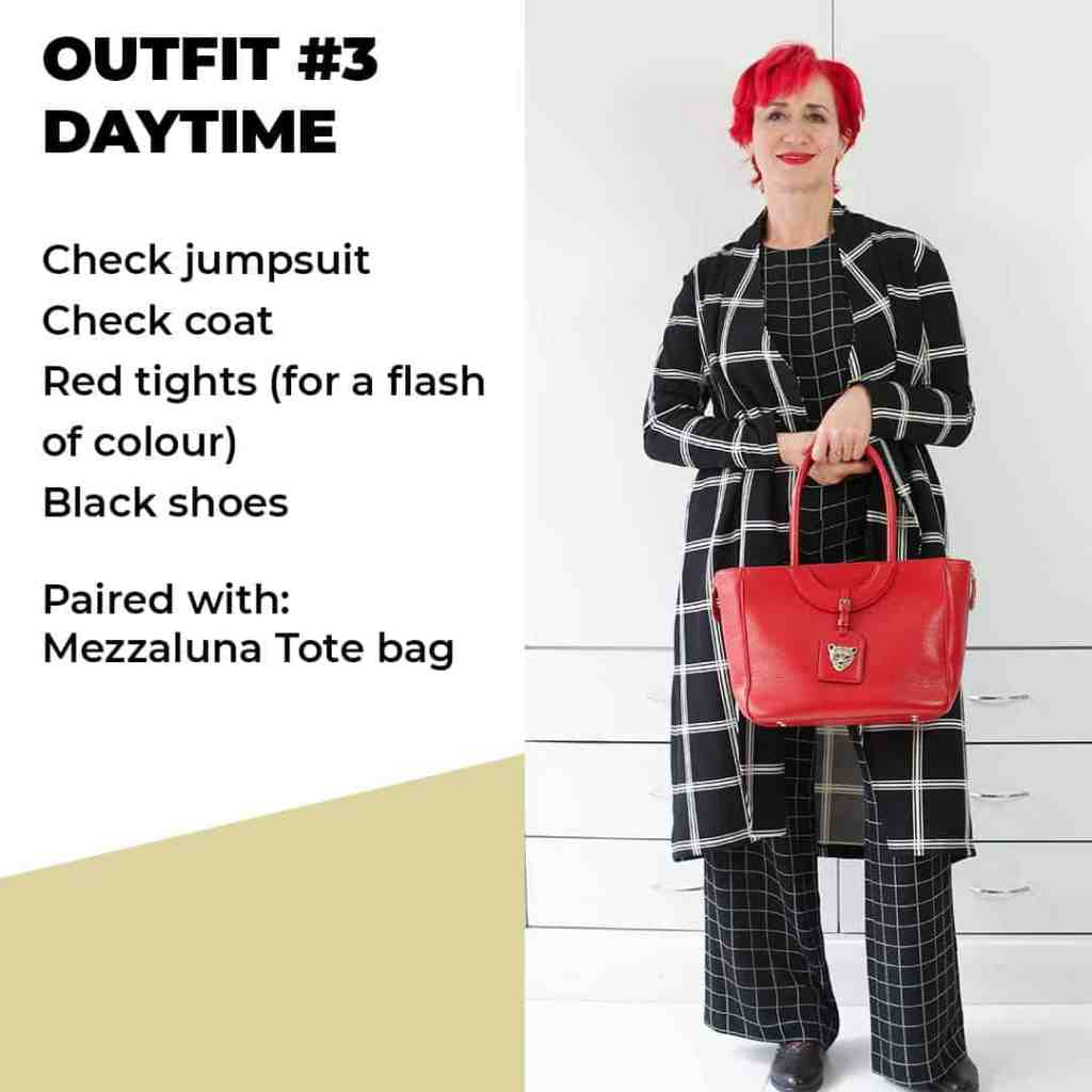 Red Bag outfit 3 daytime
