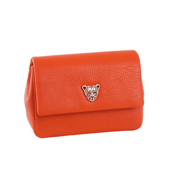 Baby Gemma in Orange leather