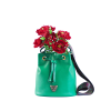 City Bucket Bag - Green bucket bag