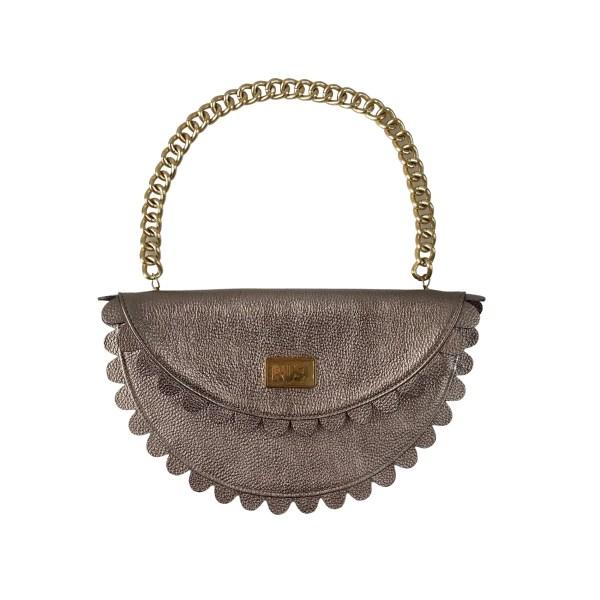 Daisy 2.0 - Dark Silver clutch bag