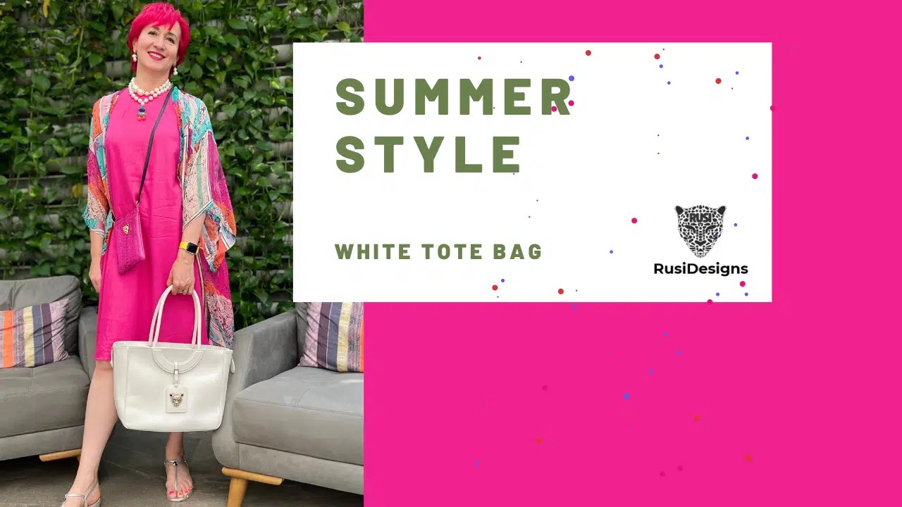 Summer Style WHITE TOTE BAGS