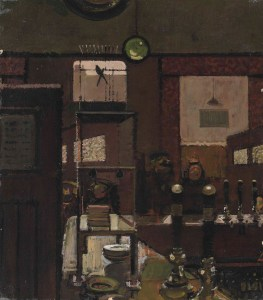 """""""At the bar"""" - A study for Mr Hollingbury's Canary."""