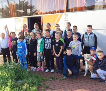 Drie groepen kinderen in NL
