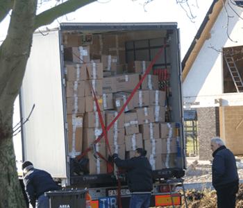 Humanitaire goederen – Rode Kruis