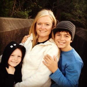 Me and our 2 amazing kids