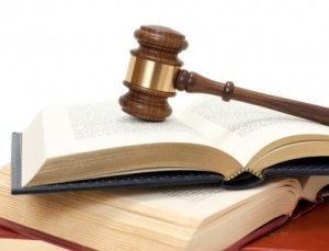 Gavel and Legal Books - Wrongful Death Attorney Orange