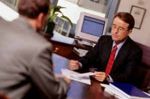 Orange County Personal Injury lawyer - talking to attorney