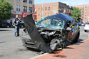 Details From The Accident Scene - Newport Beach car accident lawyers