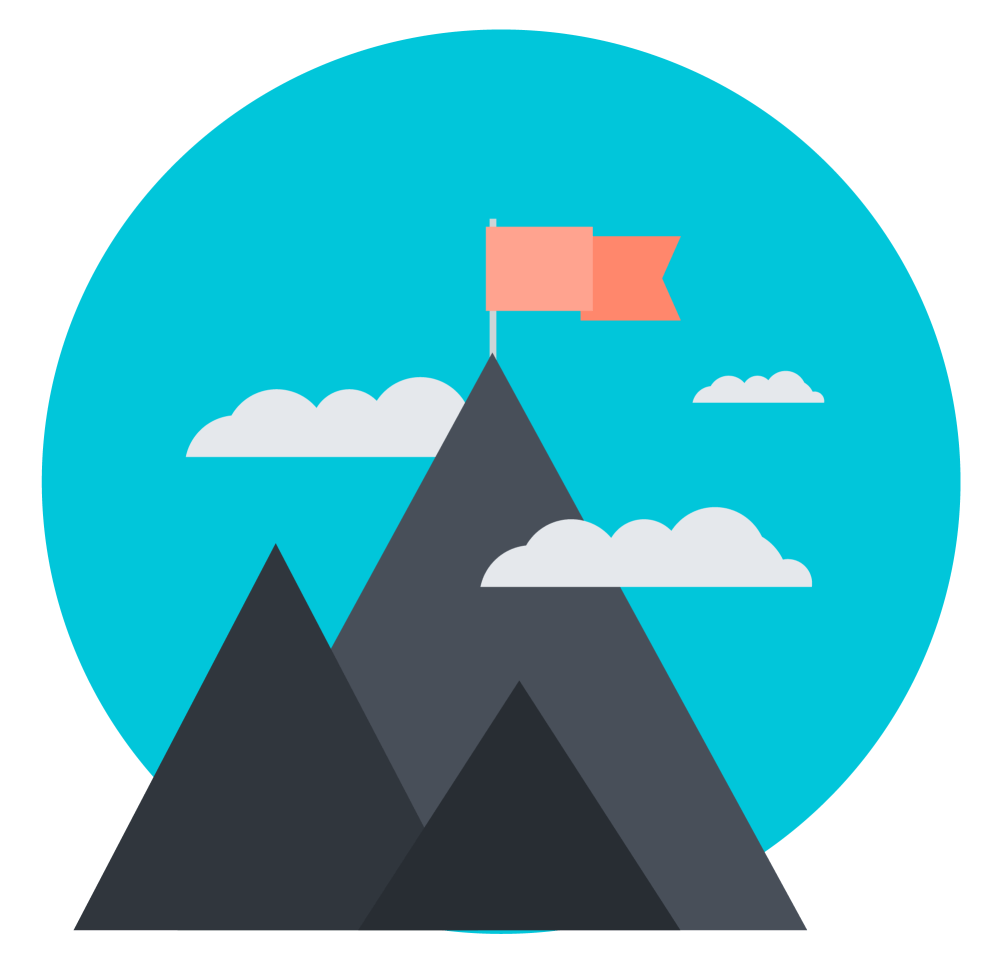 Mountain Summit Icon