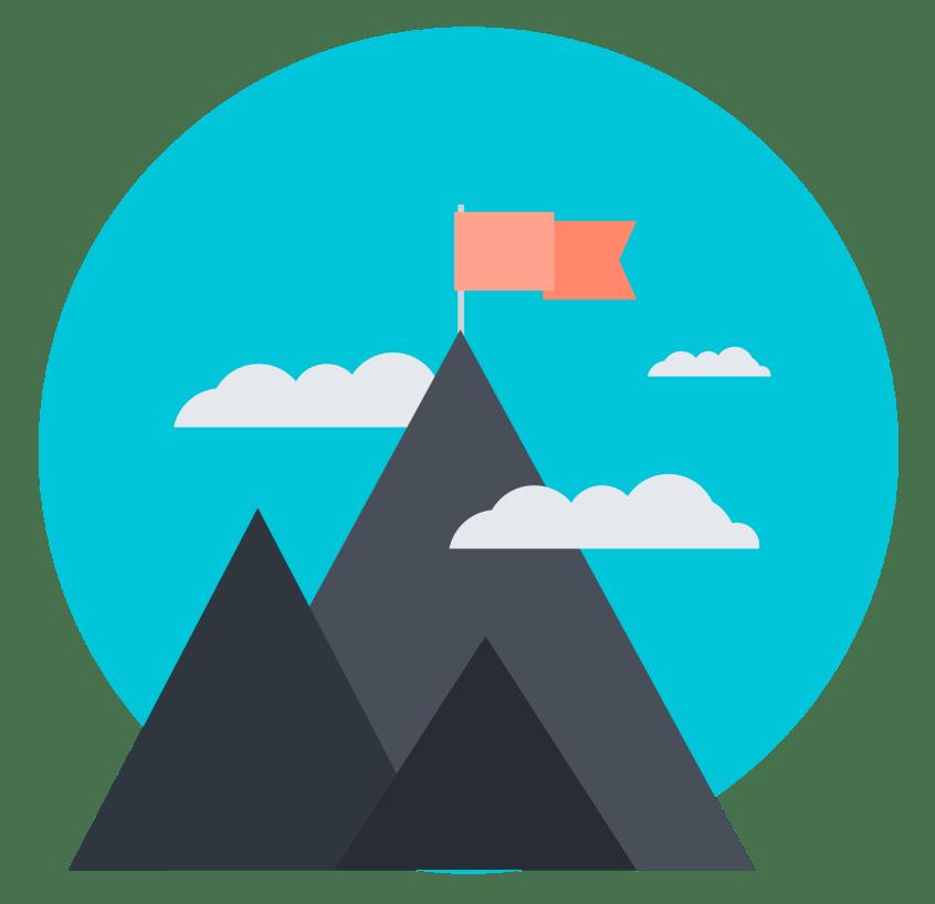 Mountain Summit Icon