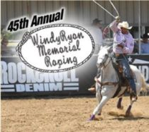 Windy Ryon memorial roping